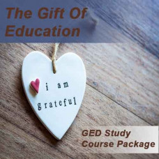 The Gift of Education: GED Study course package Gift card